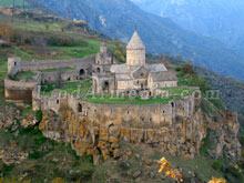 Armenian sights. Tatev monastery
